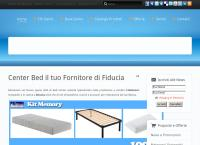 Sito di Bed Center By Chillemi