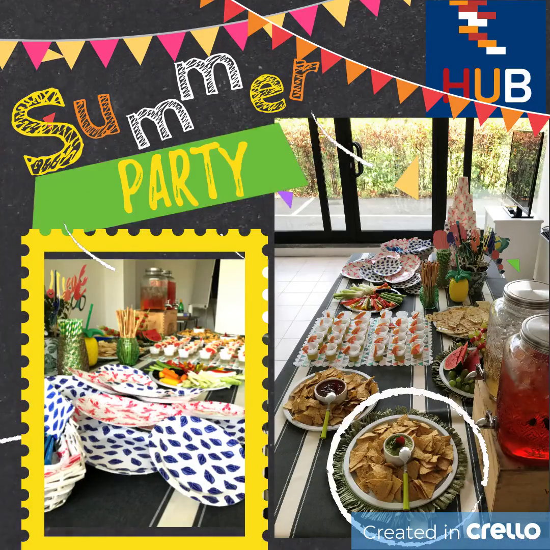 Summer Party in HUB